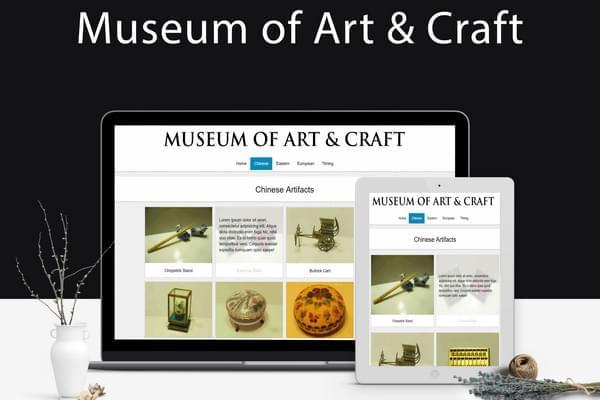 Museum Website Image